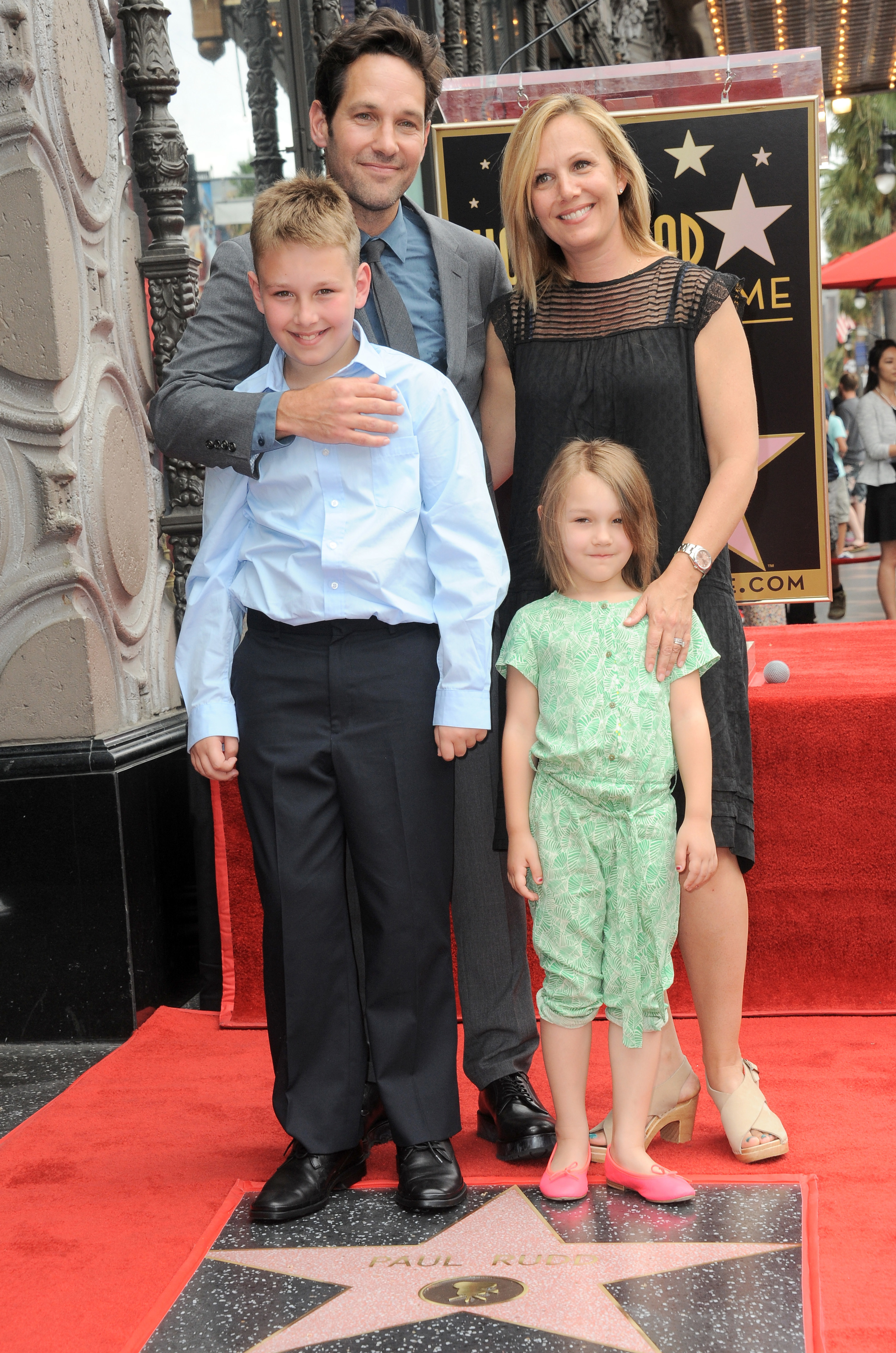 when paul was getting his star on the walk of fame