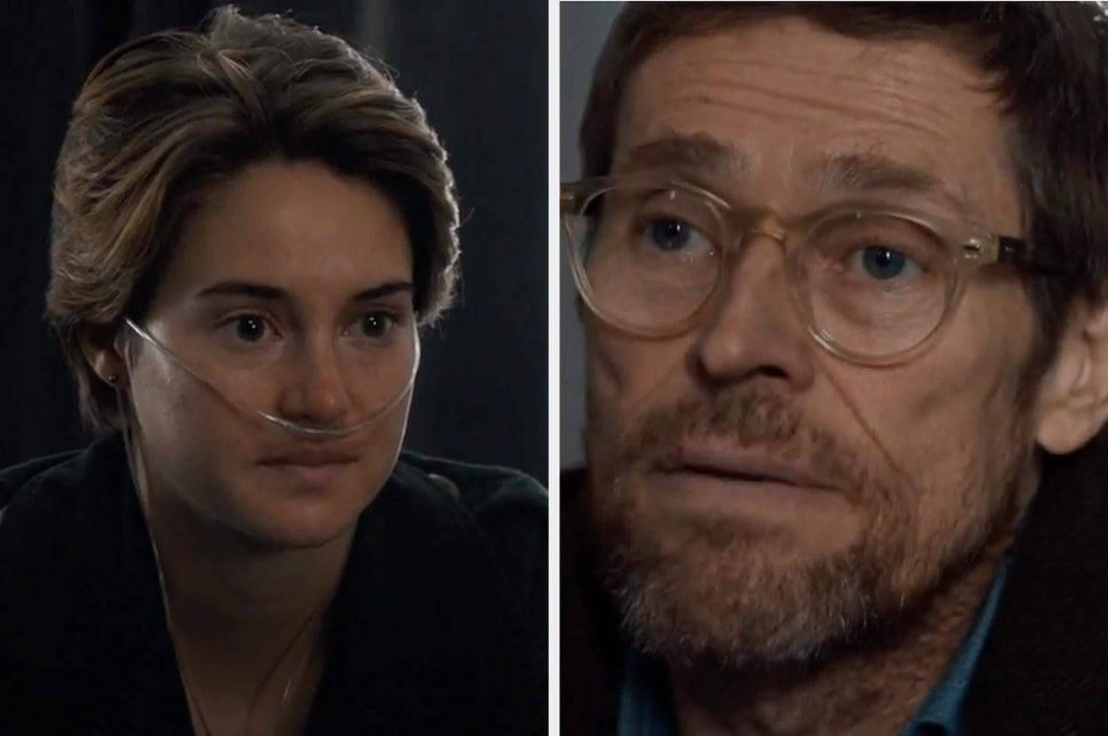 Hazel and Peter van Houten in the movie adaptation