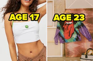 age 17 and 23