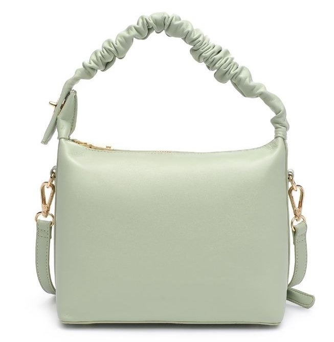 the bag in sage green