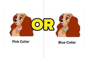 pink or blue collar