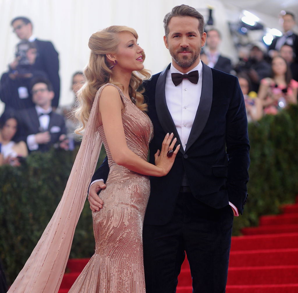 """Blake Lively (L) and Ryan Reynolds attend the """"Charles James: Beyond Fashion"""" Costume Institute Gala"""
