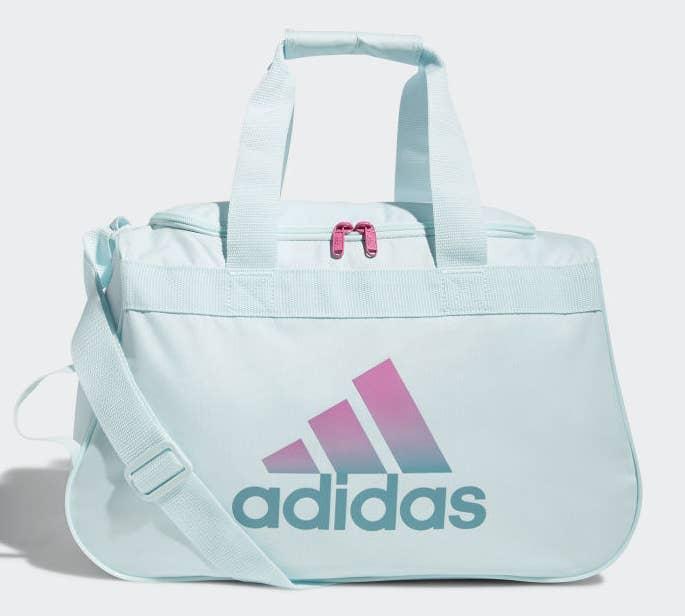 a small adidas duffel bag