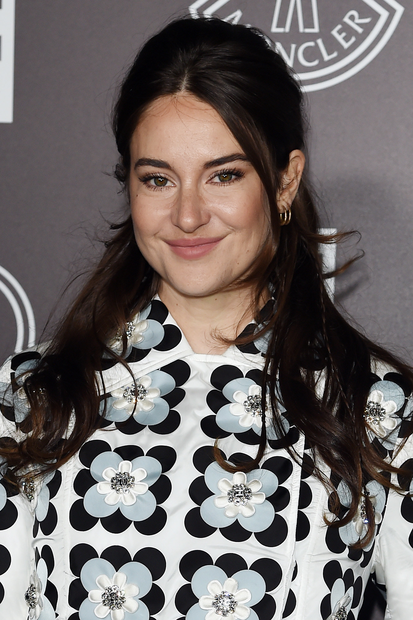 Shailene Woodley is photographed at an event in Milan, Italy