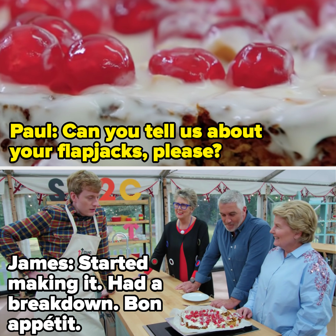 James says: Started making it. Had a breakdown. Bon appetit.