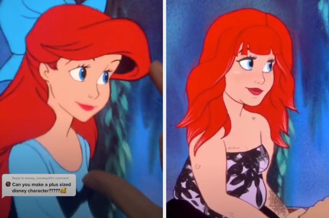 Ariel Gen Z makeovers