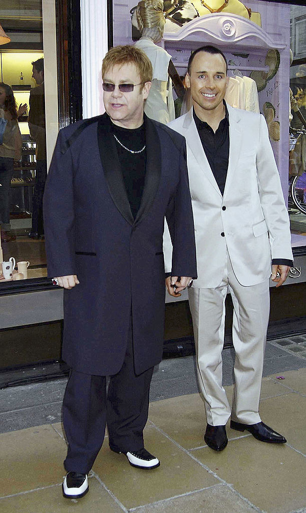 at the launch of a store in london