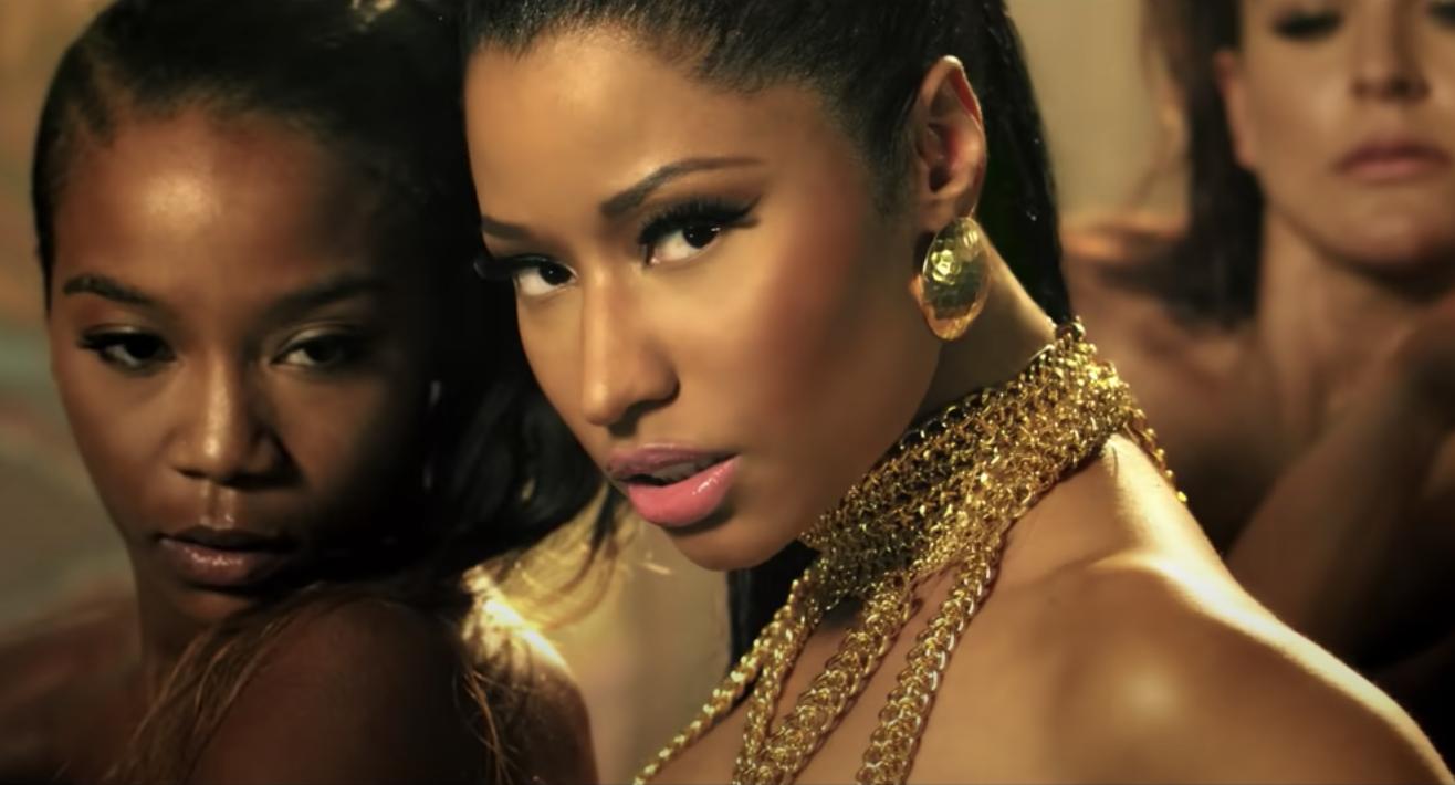 Nicki in the Anaconda music video