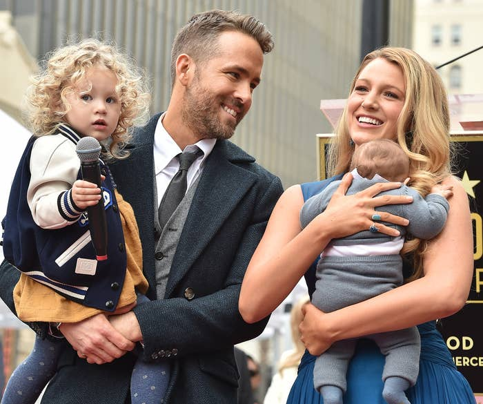 Blake and husband Ryan Reynolds bring their two oldest to an event