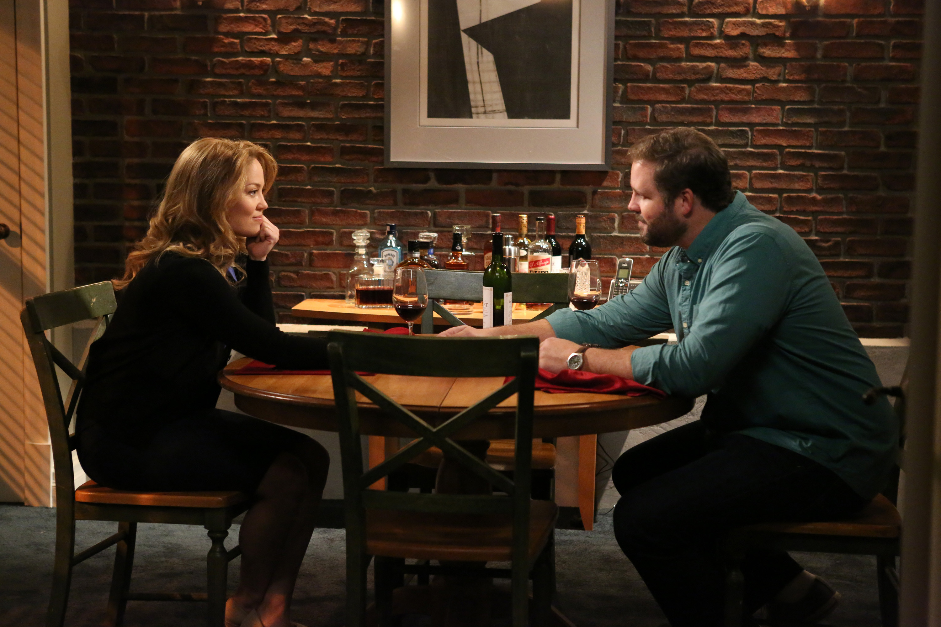 Julia on a date with Ed on Parenthood
