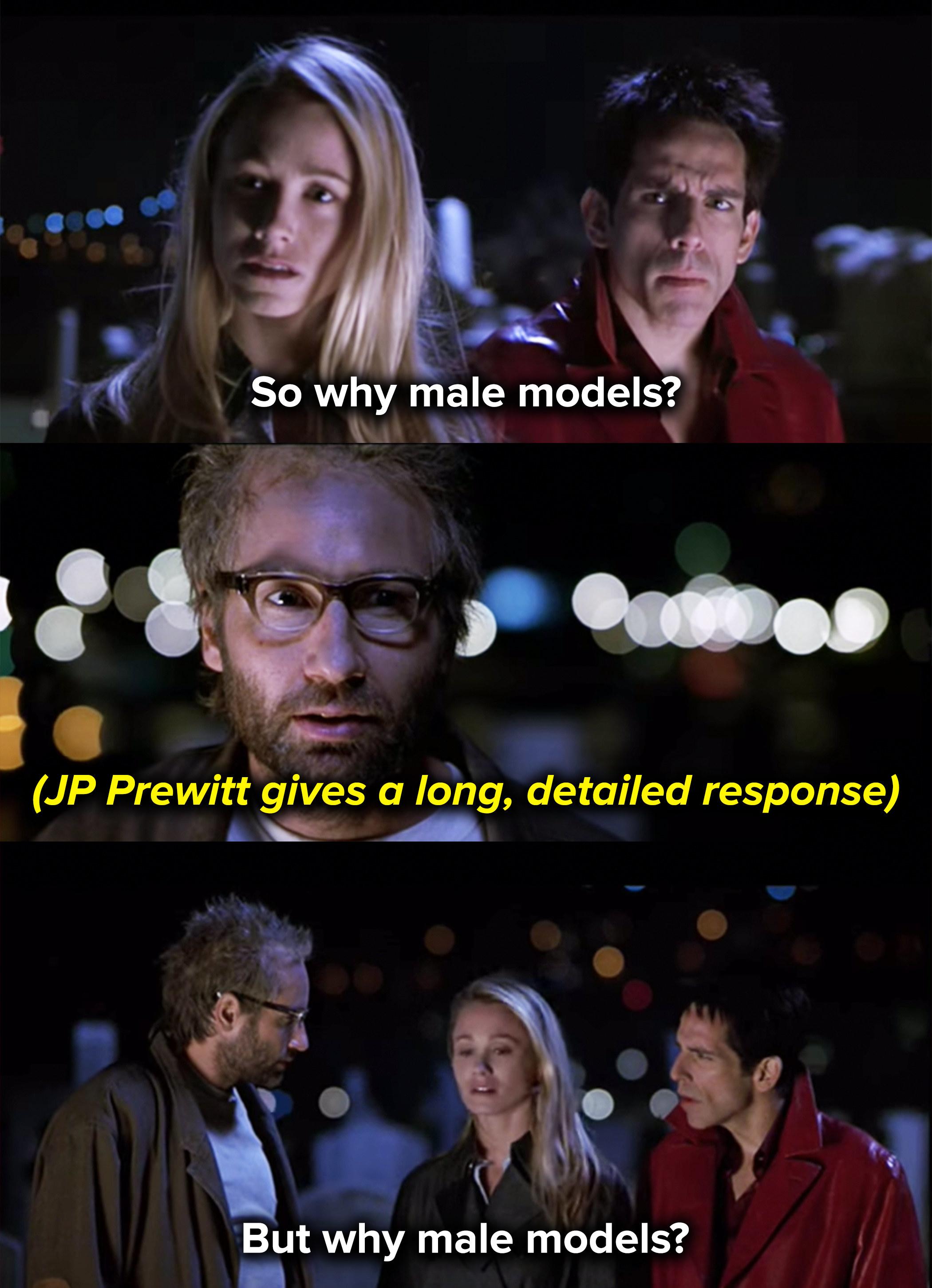 Derek repeats his question after JP Prewitt gives a long, detailed response
