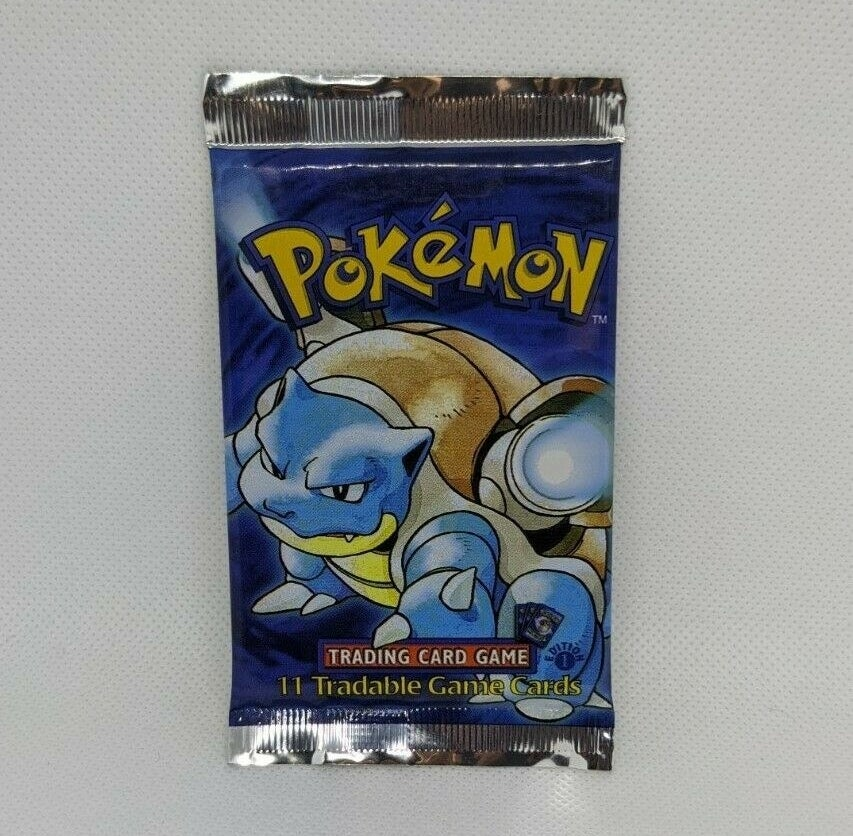 A Pokemon trading card pack
