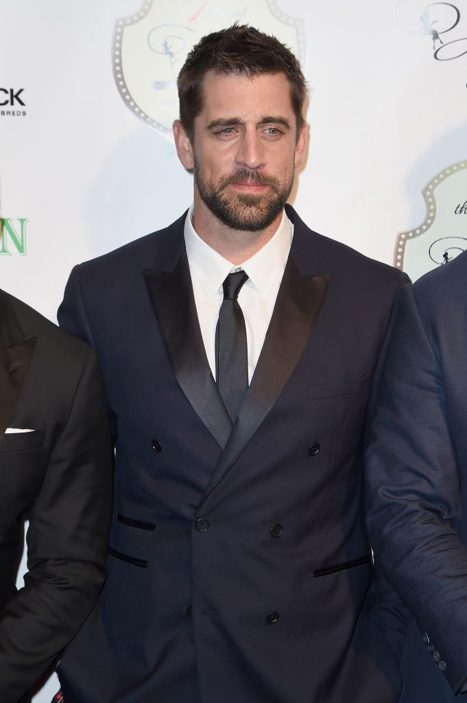 Aaron Rodgers attends the 7th Annual Fillies & Stallions Kentucky Derby Party