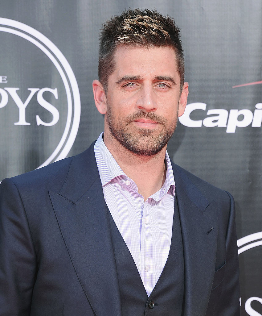 Aaron Rodgers arrives at The 2016 ESPYS
