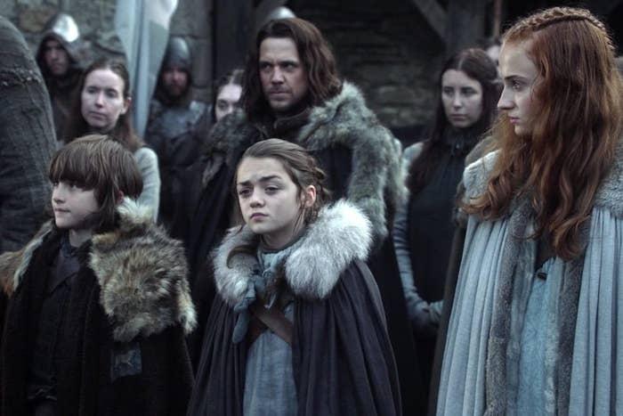 all of the stark kids