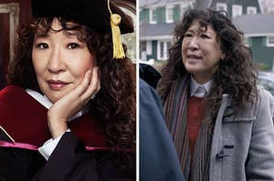 Sandra Oh in The Chair