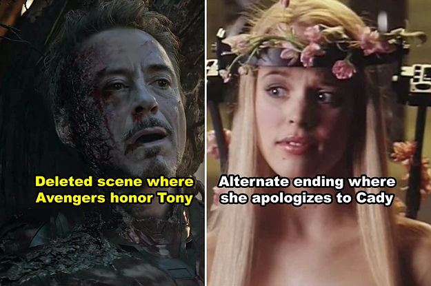 19 Wild Deleted Scenes And Alternate Endings That Would've REALLY Changed Your Favorite Movies