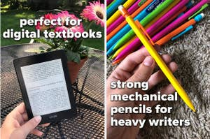 kindle paperwhite and strong mechanical pencils