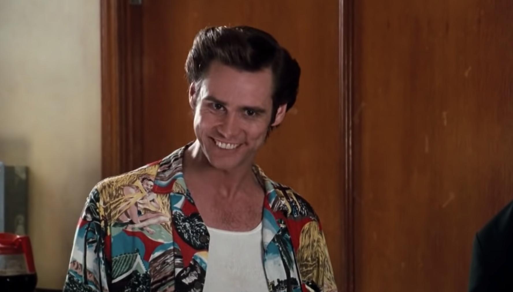 """Jim Carrey in """"Ace Ventura: Pet Detective"""""""