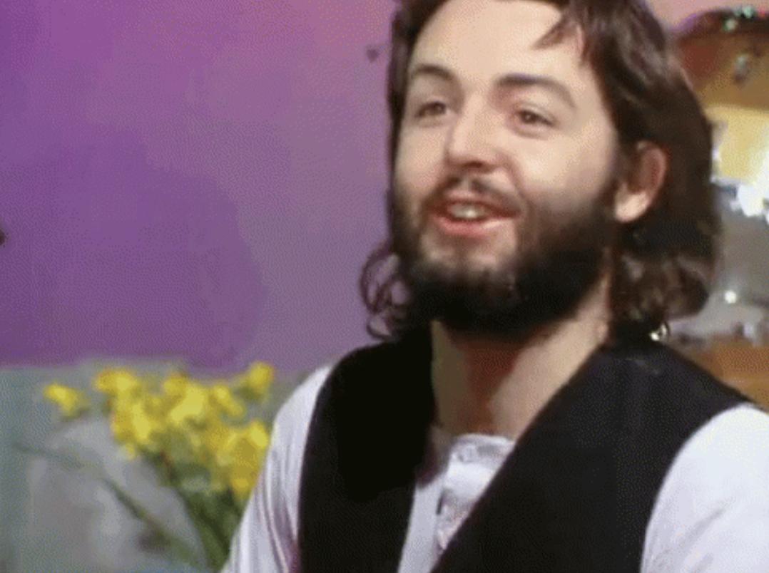 "Paul McCartney in the ""Let It Be"" movie"