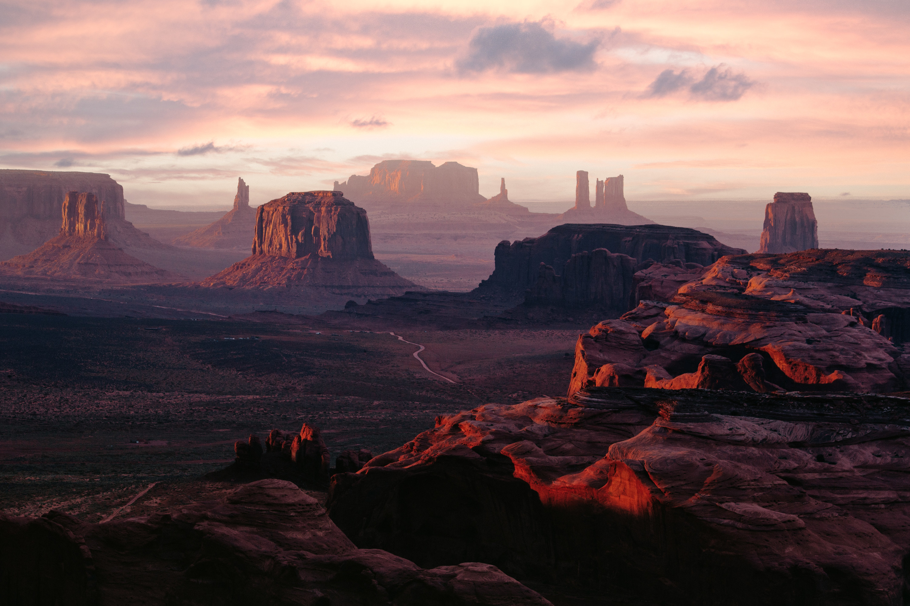 the grand canyon and desert