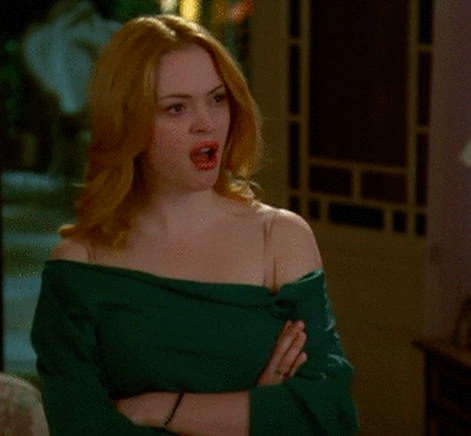 """Paige from """"Charmed"""" looking shocked"""