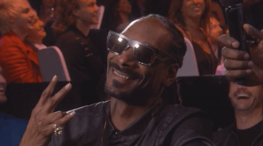 Snoop Dogg at the iHeartRadio Music Awards