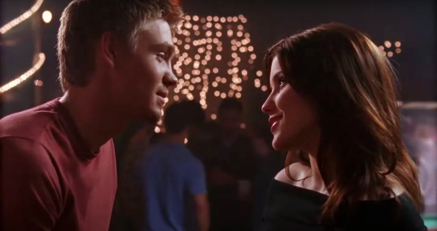 Lucas and Brooke gaze at each other lovingly