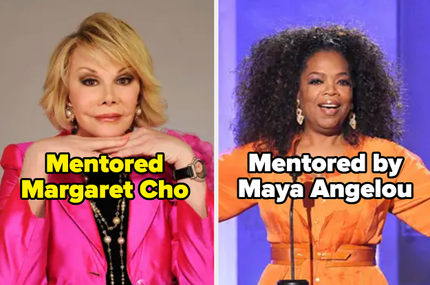 16 Famous People Who Mentored Their Fellow Celebrities