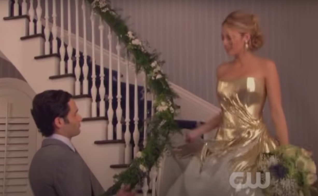 Dan and Serena get married in the finale