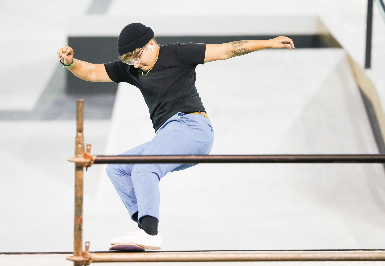 Alana skating
