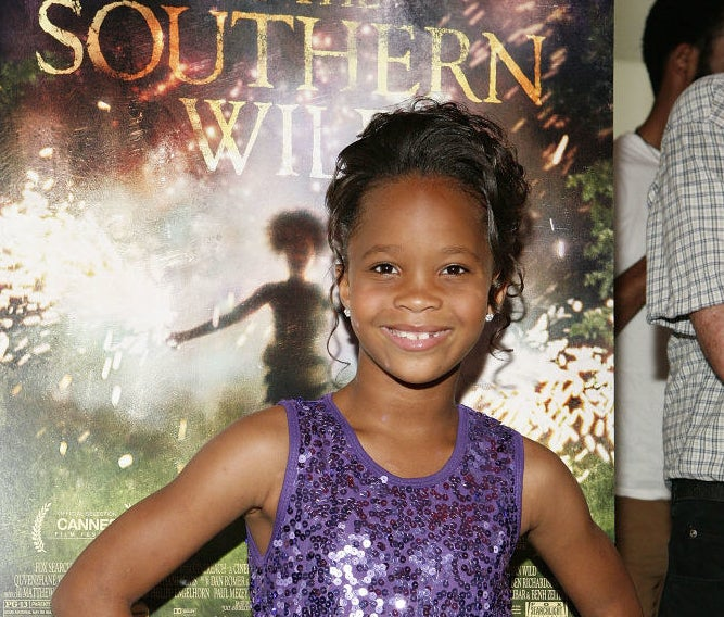 Quvenzhané Wallis at a screening of Beasts of the Southern Wild