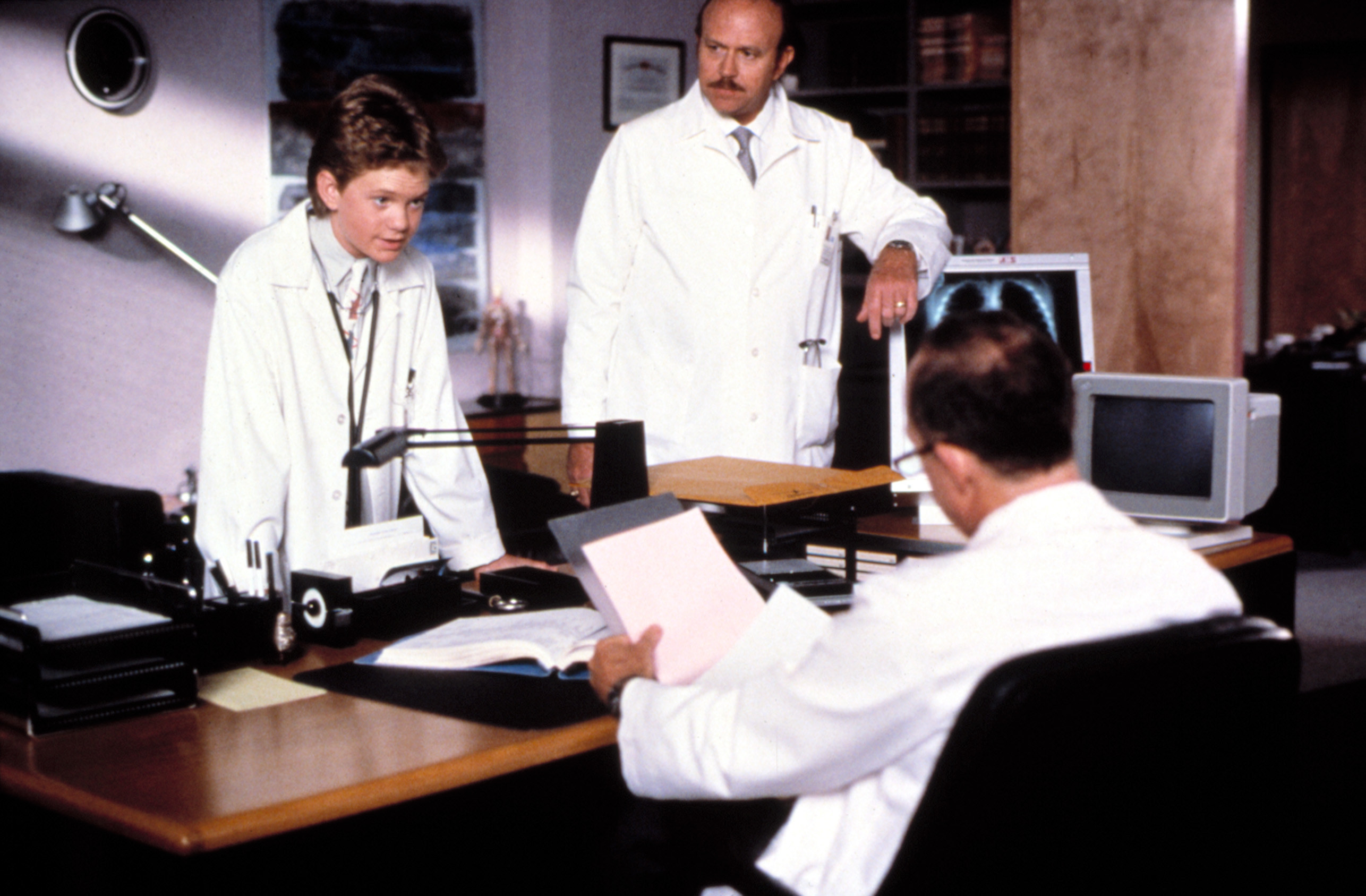Doogie Howser with two doctors of normal ages