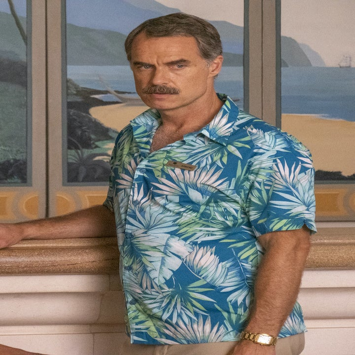 Murray Bartlett in a Hawaiian shirt