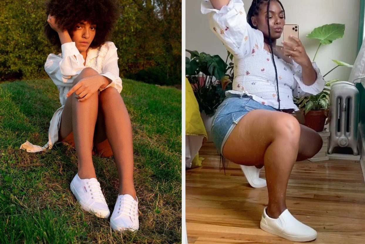 21 Pairs Of White Sneakers You'll Wear Every Single Day