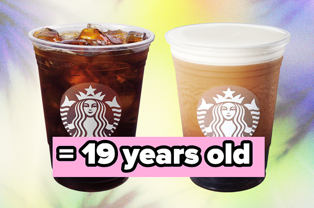 I Bet I Can Accurately Guess Your Age Within 5 Years Based Only On What You Get At Starbucks