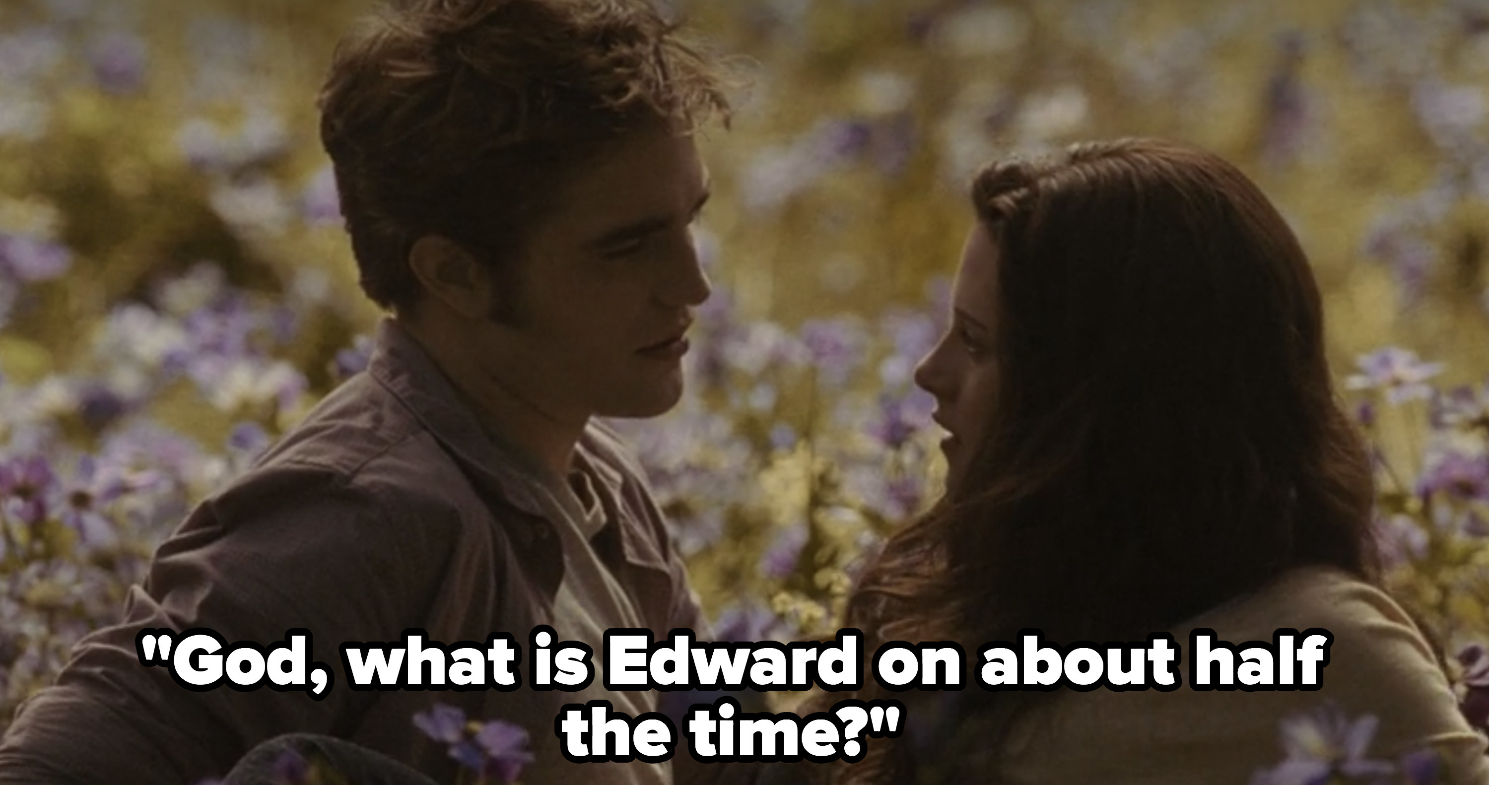 """Rob """"God, what is Edward on about half the time?"""""""
