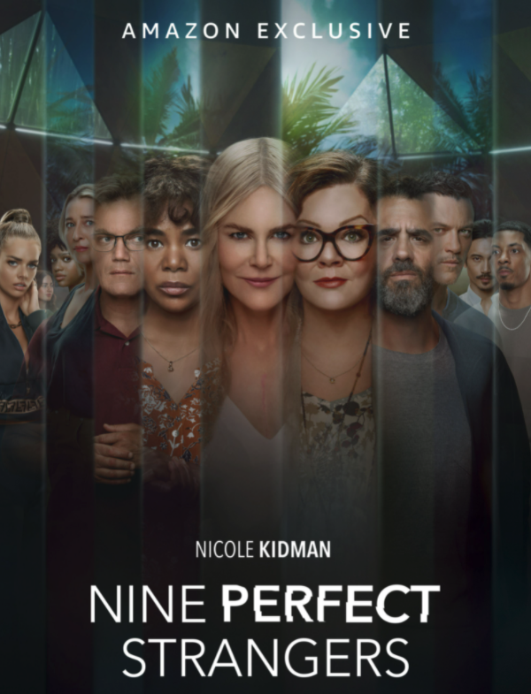 The poster for Nine Perfect Strangers