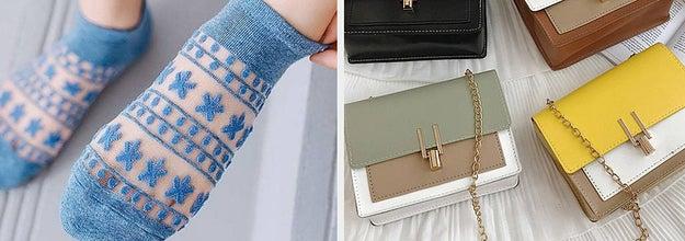 socks and purses
