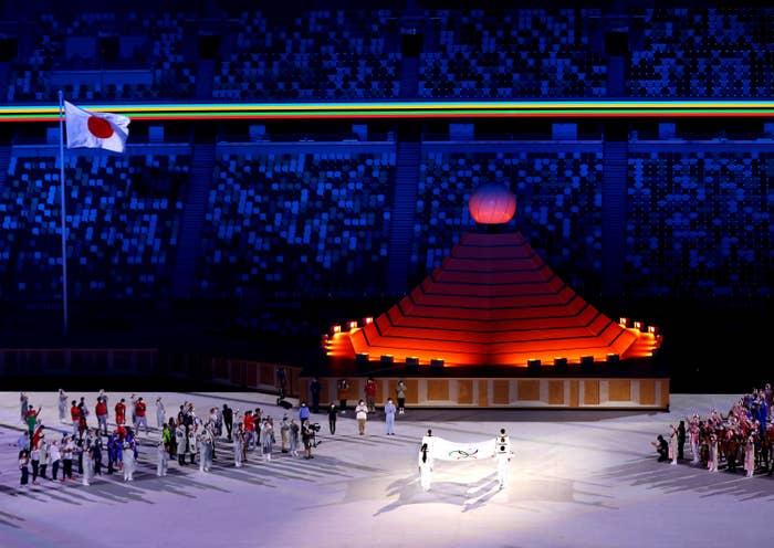 Olympics opening ceremony in Tokyo