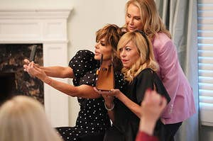 Photo of Lisa Rinna, Kathy Hilton, and Sutton Stracke from Real Housewives of Beverly Hills