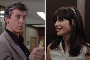 The assistant principal from The Breakfast Club and Summer from 500 Days of Summer