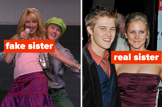 14 Actors With Their Hollywood Brothers And Sisters Vs. Their Actual Siblings
