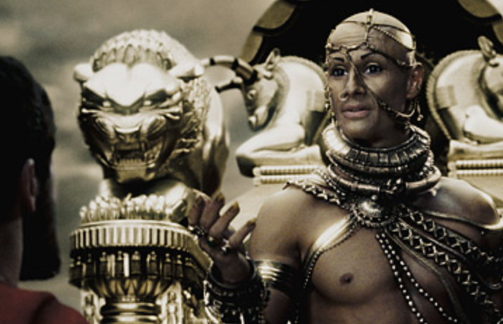 The king in 300