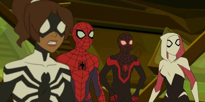 Marvel's Spider-Men, Spider-Girl, and Ghost Spider