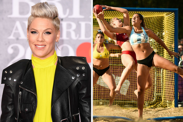 Pink Offered To Pay The Fines For The Norway's Women's Beach Handball Team After They Broke