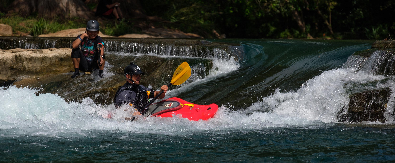 Kayaking in San Marcos