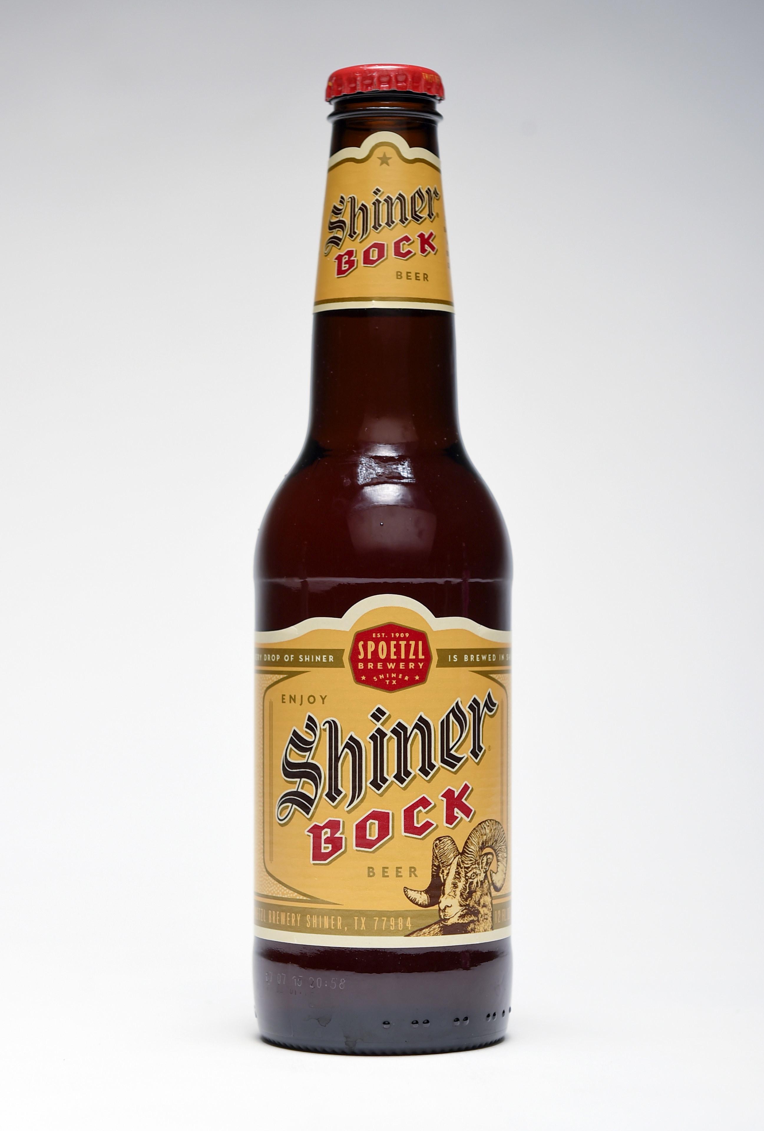 A bottle of Shiner beer