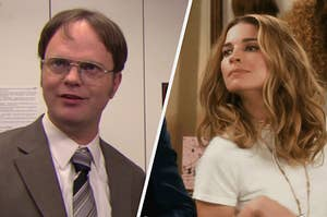 Dwight Schrute and Alexis Rose