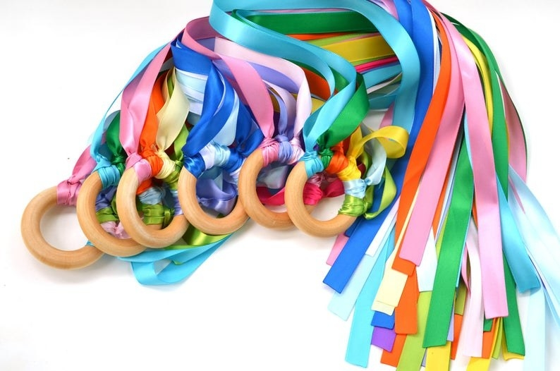 rainbow hand kites